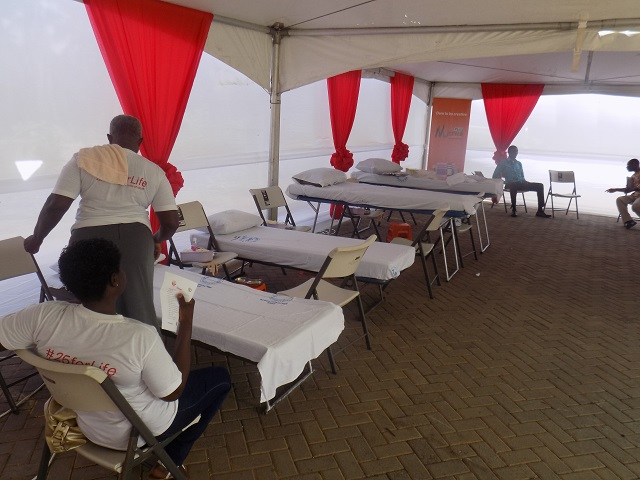 Blood donation Beds